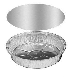 "7"" Round Foil Pan w/ Lid"