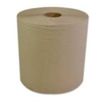 Ultra Brown Roll Towel - 600'