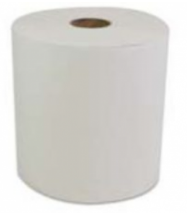 Ultra White Roll Towel - 600'