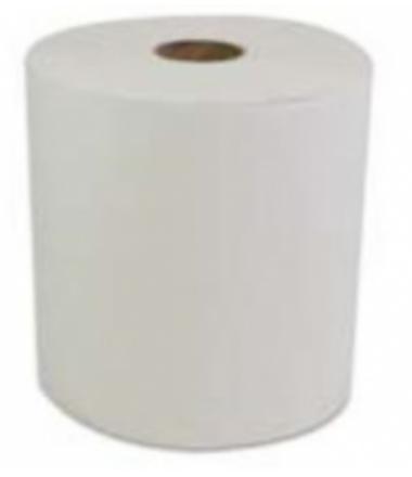 "Ultra 10"" TAD Premium White Roll Towel"
